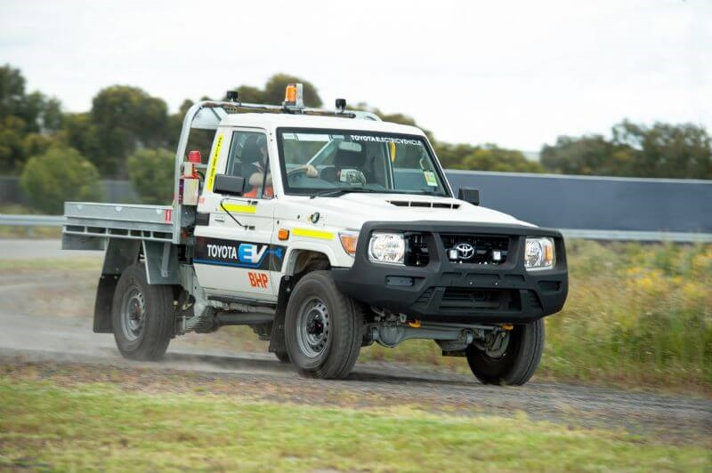 Toyota Australia and BHP Announce Pilot Trial of Converted Electric Vehicle