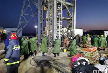 Gold mine explosion in China traps 22 workers underground