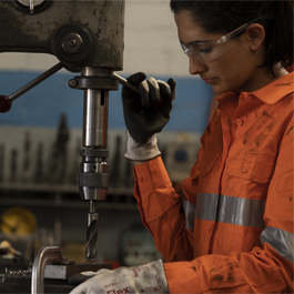Blackwoods workwear can support women in industry