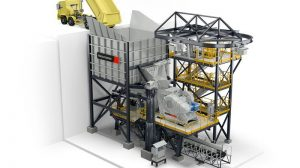 The first Metso Outotec FIT TM Crushing Station to be installed at Amarillo Gold in Brazil