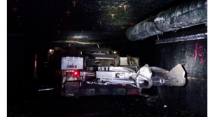 Worker suffers serious injuries when pinned by boom of a continuous miner