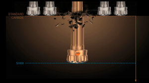 Sandvik launches new SH69 PowerCarbide™ grade developed specifically for DTH drilling
