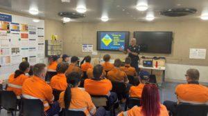Driver fatigue presentations at Moranbah mines