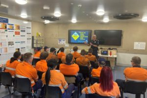 Driver fatigue presentations at Moranbah mines