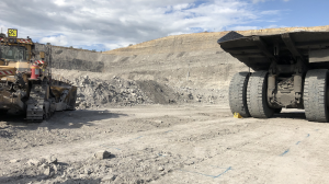 a collision between dozer and haul truck