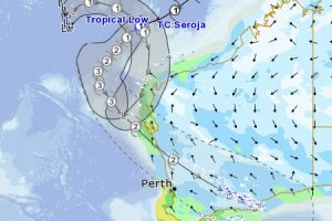 WA prepare Tropical Cyclone Seroja is tracking parallel to the coast and will likely impact sections of the Pilbara and Midwest-Gascoyne regions over the coming week.
