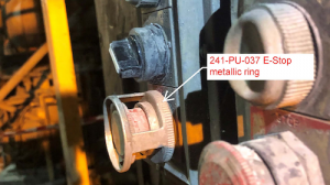 A worker received an electric shock at metals processing
