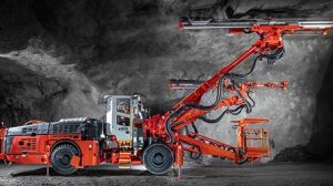 New Sandvik DT923i tunneling jumbo