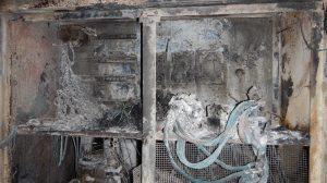 fire incident at underground coal mine