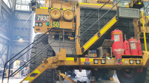 worker injured at Open cut coal mine