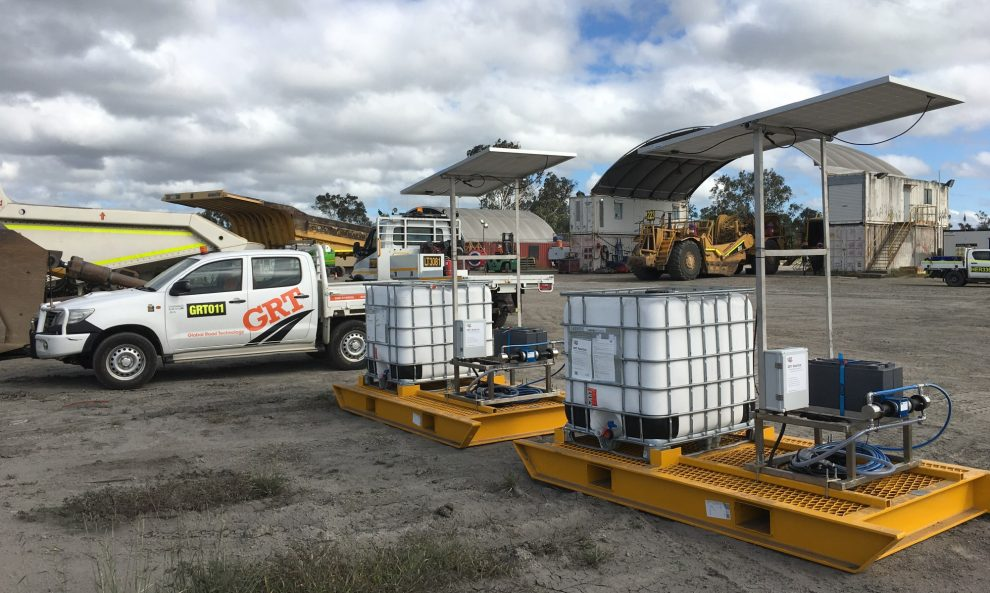 Global Road Technology DUST CONTROL Vehicles