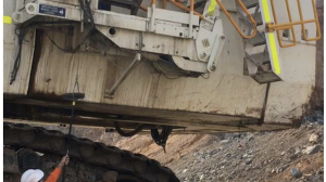 Excavator emergency access & egress systems