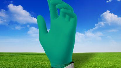 SafetyMate Gloves EcoTek Biodegradability Technology HERO IMAGE